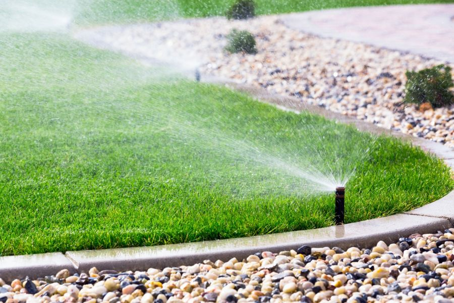 Sprinkler Activation by Grasshopper Irrigation, Inc