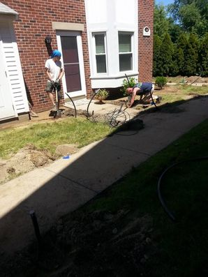 Residential irrigation Installation in Wilmington, MA (1)