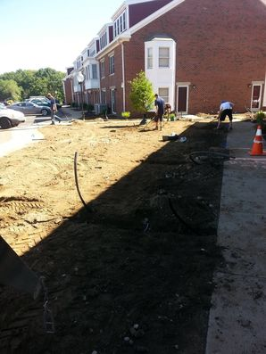Residential irrigation Installation in Wilmington, MA (2)